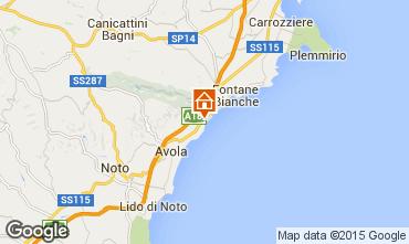 Karte Avola Villa 94530