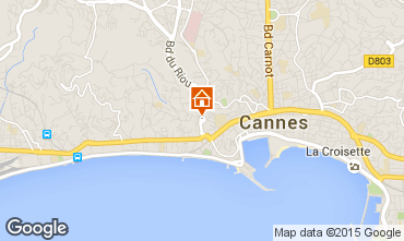 Karte Cannes Appartement 93218