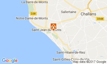 Karte Saint Jean de Monts Mobil-Home 112267