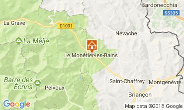 Karte Serre Chevalier Chalet 112562
