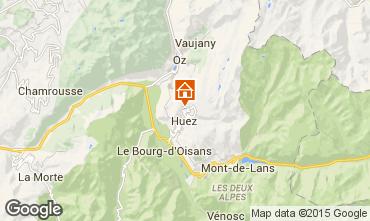 Karte Alpe d'Huez Appartement 50