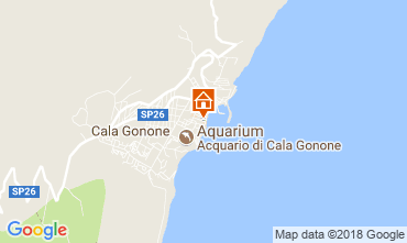Karte Cala Gonone Appartement 77886