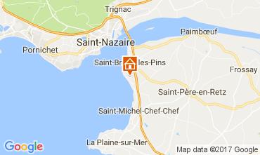 Karte Saint Brevin les Pins Haus 52156