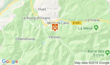Karte Les 2 Alpes Chalet 116881