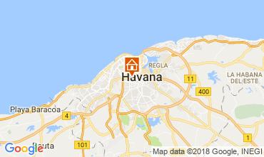 Karte Havanna Fremdenzimmer 113566