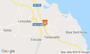 Karte San Teodoro Appartement 113851