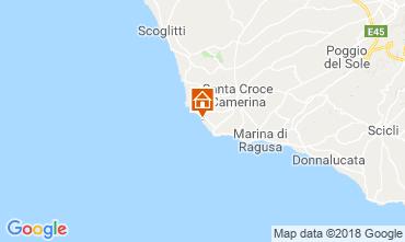 Karte Punta Secca Villa 87513