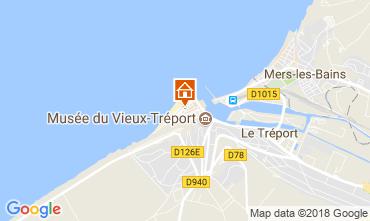 Karte Le Tréport Appartement 108744