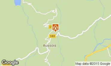 Karte Aussois Ferienunterkunft auf dem Land 58490
