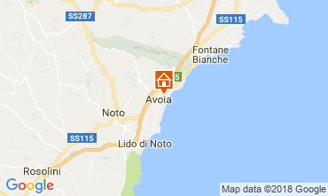 Karte Avola Villa 115324