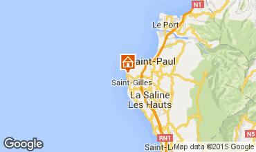 Karte Saint Gilles Bungalow 78283