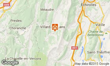 Karte Villard de Lans - Corrençon en Vercors Studio 3651