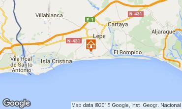 Karte Islantilla Villa 64975