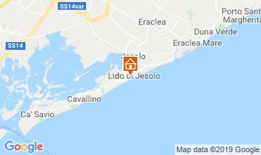 Karte Jesolo Appartement 75928