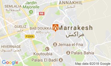 Karte Marrakesch Haus 114133