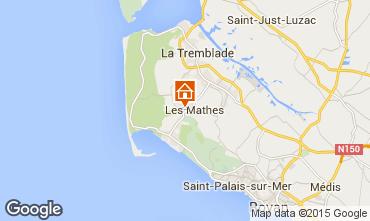 Karte La Palmyre Mobil-Home 80969