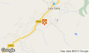 Karte Les Gets Chalet 1357