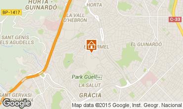 Karte Barcelona Appartement 76768