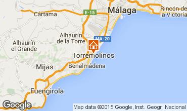 Karte Torremolinos Studio 45979