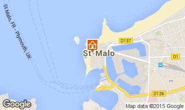 Karte Saint Malo Appartement 74439