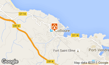 Karte Collioure Appartement 9149