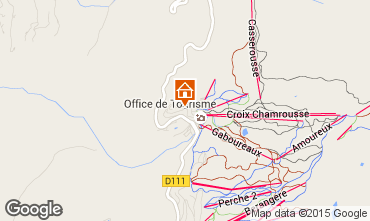 Karte Chamrousse Appartement 36119