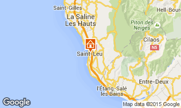 Karte Saint Leu Ferienunterkunft auf dem Land 32520