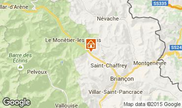 Karte Serre Chevalier Chalet 2883