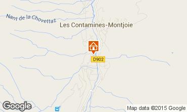 Karte Les Contamines Montjoie Appartement 979