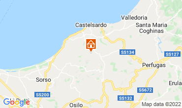 Karte Castelsardo Haus 86630