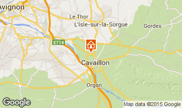 Karte Cavaillon Appartement 98672