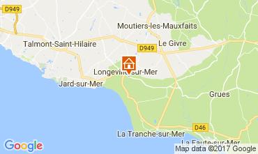 Karte Longeville sur Mer Villa 112665