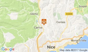 Karte Nice Appartement 112133