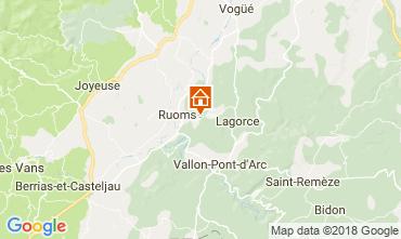 Karte Lagorce Mobil-Home 114690