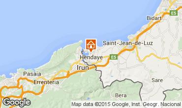 Karte Hendaye Appartement 82539