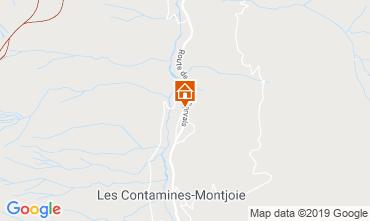 Karte Les Contamines Montjoie Chalet 923