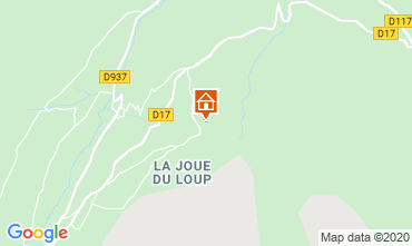 Karte La joue du Loup Chalet 117440