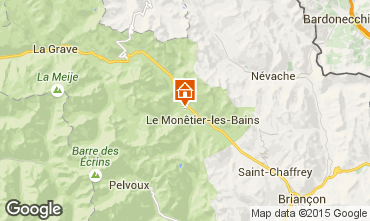 Karte Serre Chevalier Chalet 2932