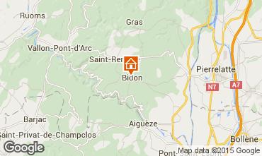 Karte Vallon-Pont-D'Arc Haus 75616