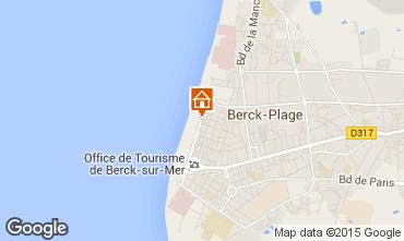Karte Berck-Plage Studio 94795