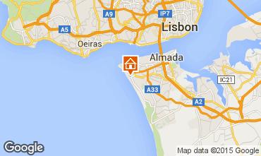 Karte Costa de Caparica Appartement 98378