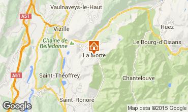 Karte Alpe du Grand Serre Studio 116