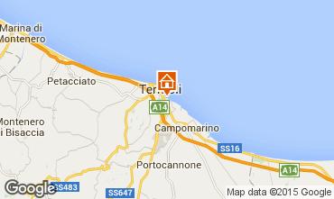 Karte Termoli Appartement 62535