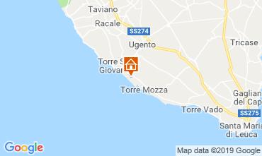 Karte Ugento - Torre San Giovanni Villa 104522