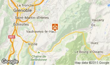Karte Chamrousse Chalet 39409