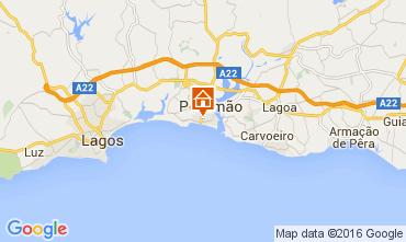 Karte Praia da Rocha Appartement 88924