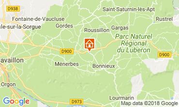 Karte Bonnieux Ferienunterkunft auf dem Land 114578