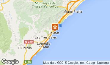 Karte La Ametlla de Mar Villa 82763