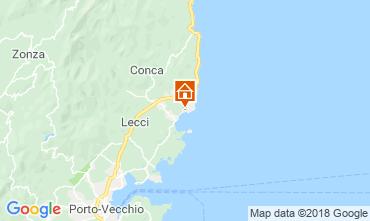 Karte Ste Lucie de Porto Vecchio Villa 112607