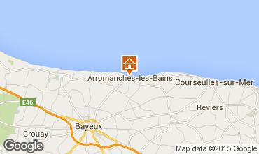 Karte Arromanches Studio 93668